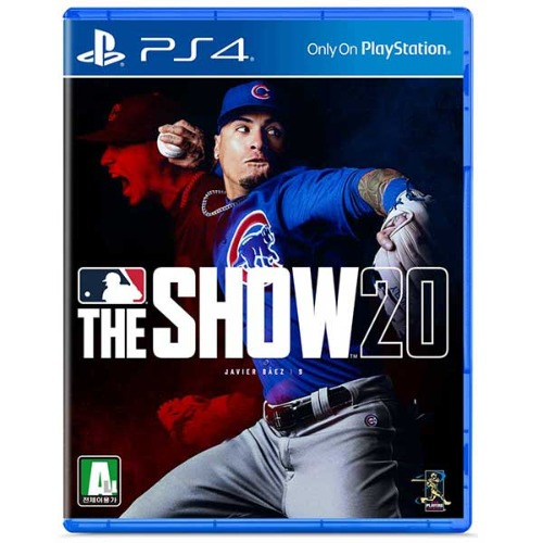 PS4 MLB THE SHOW 20 / MLB20 더쇼20 초회판